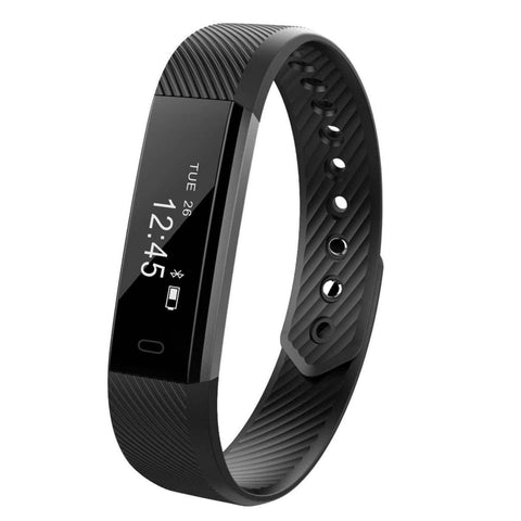 Fitness Tracker Smart Bracelet Id115 Bluetooth Call Remind Remote Self-Timer Smart Watch price in nepal