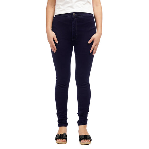 Women's Dark Wash Skinny Fit High Waist Denim Pant by Attire Nepal price in nepal
