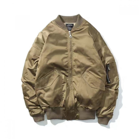 Gold Bomber Over Size Jacket For Men