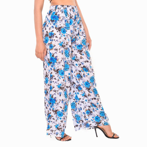 Floral Printed Stretchable Pant For Women( Print may very) By Arushi  price in nepal
