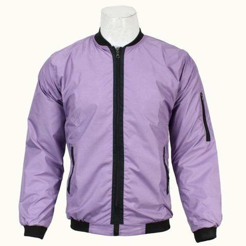 Light Purple Bomber Windcheater For Men price in nepal