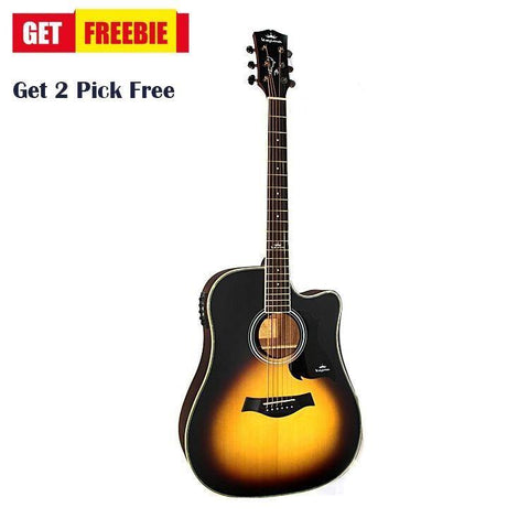D1Ce Kepma Acoustic Guitar With Free 2 Pick