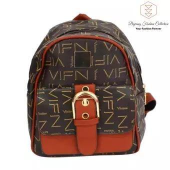 Mini Backpack Women Fashion Wild Bag Student PU Leather Shoulder School Bag For Teenage Girls Fashion Ladies By Bajrang