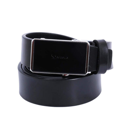Combo Of 2 Black Solid Formal Belt For Men Price in Nepal