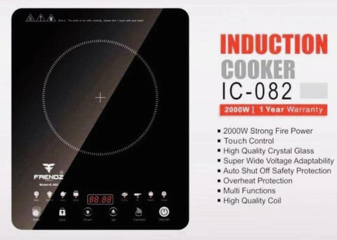 Frendz Induction Cooktop Touch Control 2000 Watt