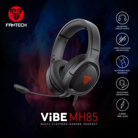 FANTECH GAMING HEADSET MH85 VIBE WITH DETACHABLE MIC price in Nepal