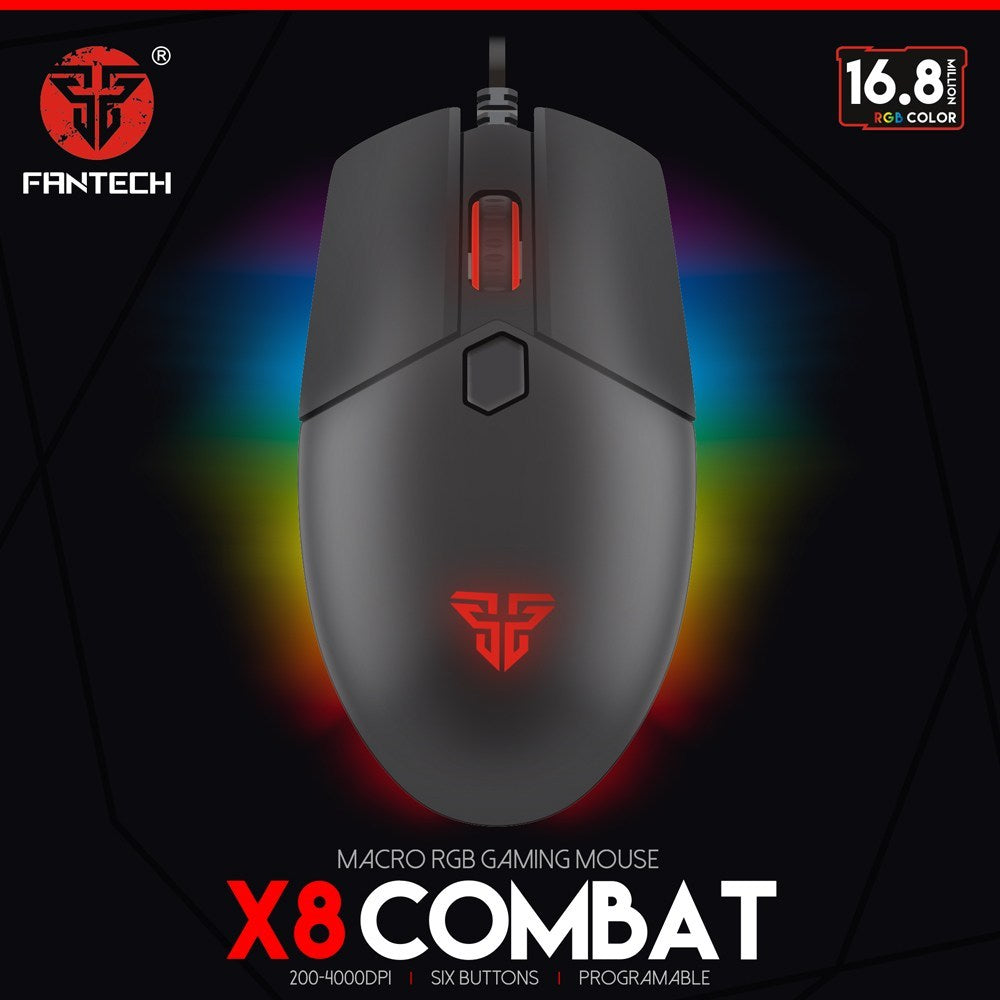 Fantech COMBAT X8 Gaming Mouse  price in nepal