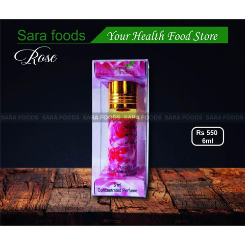 Concentrated Perfume Rose 6ml