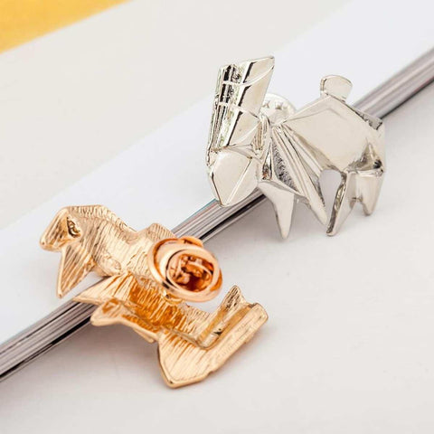 Geometric Rabbit Pattern Alloy Brooch For Women