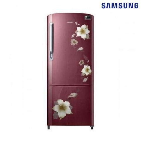 Samsung Rr20M2821R2/Im 192L Single Door Refrigerator- Maroon