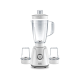 CG 400W Blender With 2 Grinder Mills (White)