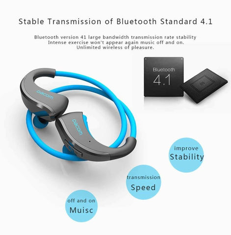Dacom G06 L05 Super Bass Music Wireless Bluetooth Earbuds Earbuds With Microphone For Android/Iphone 8