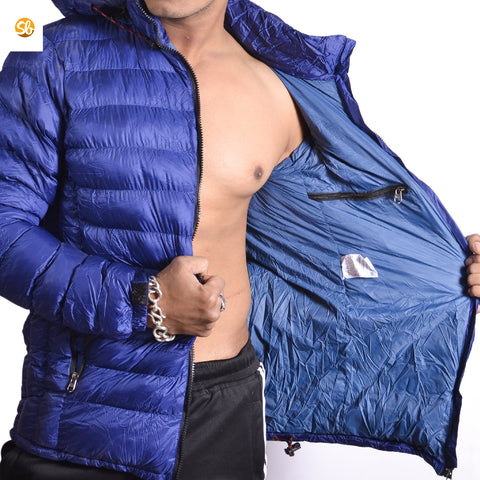 Light Silicon Winter Jacket For Men