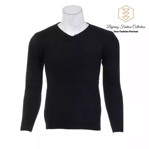 V-Neck Sweater Men 2020 Autumn Winter Cashmere Cotton Blend Warm Jumper Clothes Men Hombres Sweater By Bajrang price in nepal