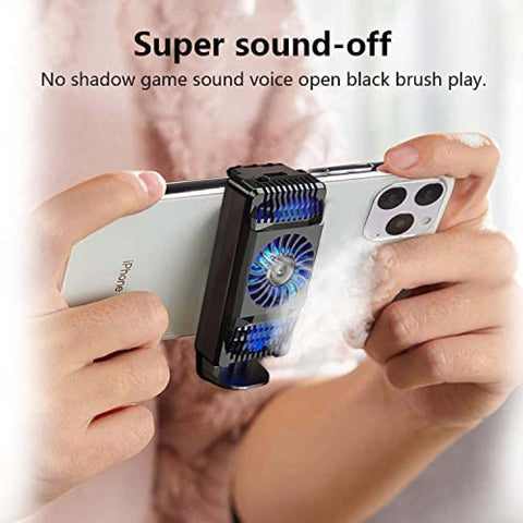 Mobile Phone Radiator 5V Phone Cooling Fan for Mobile Radiator Portable Semiconductor Play Games and Entertainment price in nepal