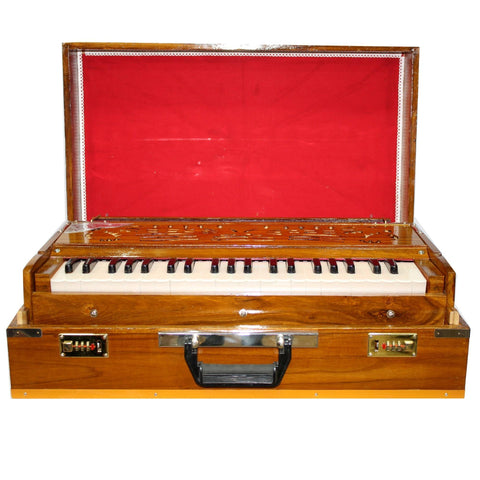 Folding Harmonium With Free Cover - Brown price in Nepal