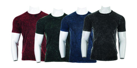 Shangrila Combo Of 4 Stone Wash T-Shirt For Men