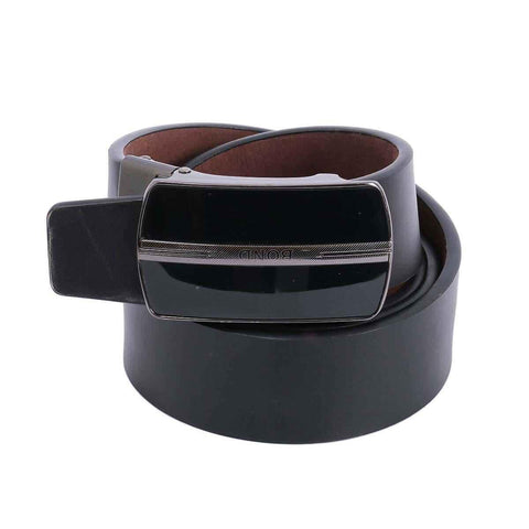 Black Plain Formal Belt For Men Price in Nepal