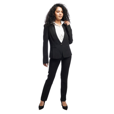 Women's Structured Single Breasted Single Button Full Sleeve Formal Coat by Attire Nepal price in Nepal
