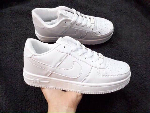 All White Air Force 1 Low