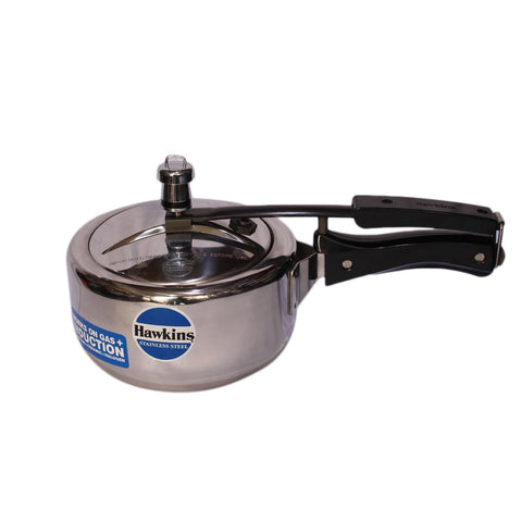Hawkins B25 Stainless Steel Induction Base Pressure Cooker-2Ltr