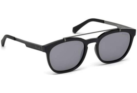Guess Black Square Frame Sunglasses Unisex - Gu 6907-01A