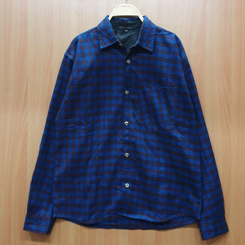 Woolen Checkered Shirt For Men