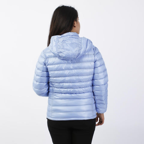 Light Blue Silicon Down Jacket