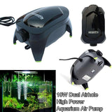 High Power Ultra Silent Aquarium Air Pump Fish Tank High Energy Oxygen Water Pump Us Plug 10W Dual Airhole price in Nepal