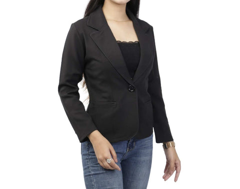 Single Breasted Notched Lapel Full Sleeve Formal Coat price in Nepal