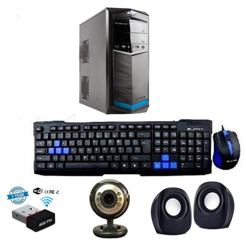 Online Class CPU Wifi Intel Core 2 Duo/ 8 GB DDR3/ 500 GB HDD/ Webcam/ Speaker For Zoom Class, Video Conferencing, Viber Meeting price in nepal