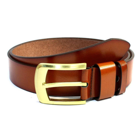 Brown Mix Leather Belt