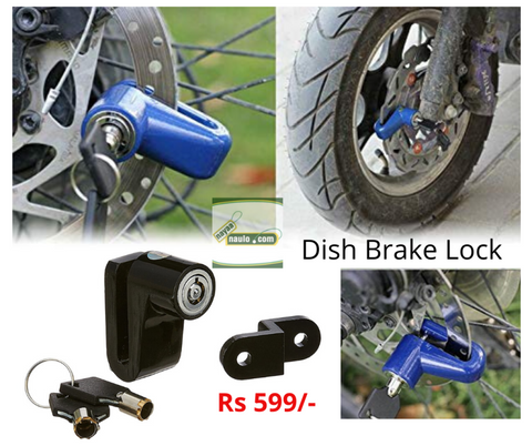 Anti Theft Disc Brake Security Lock for All Bikes