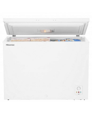 Hisense Hard Top Single Door Chest Freezer 250 Ltrs FC-34DD4SA