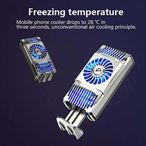 Mobile Phone Radiator 5V Phone Cooling Fan for Mobile Radiator Portable Semiconductor Play Games and Entertainment