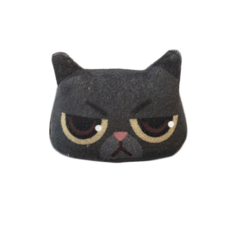 3D Lovely Handmade Terrifying Cat Emoji Brooch price in Nepal