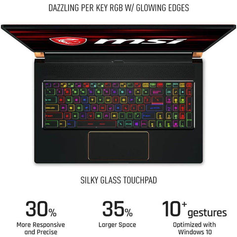 "MSI GS75 STEALTH i7 9TH GEN/ 16GB RAM/ 1TB SSD/ RTX 2070/ 17.3"" FHD 144Hz"