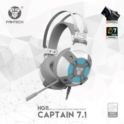 Fantech Hg11 Captain 7.1 White Space Edition Gaming Headphone price in nepal