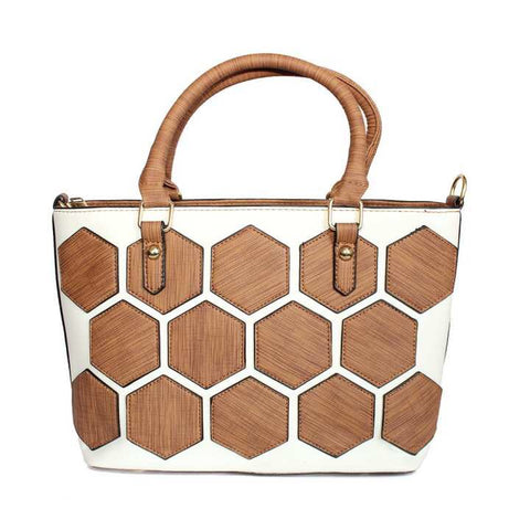 Two Toned Handbag For Women