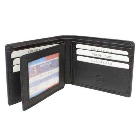 Black Multiple Slots Wallet For Men