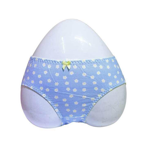 Front Bow 100% Cotton Panty - Pack of 3