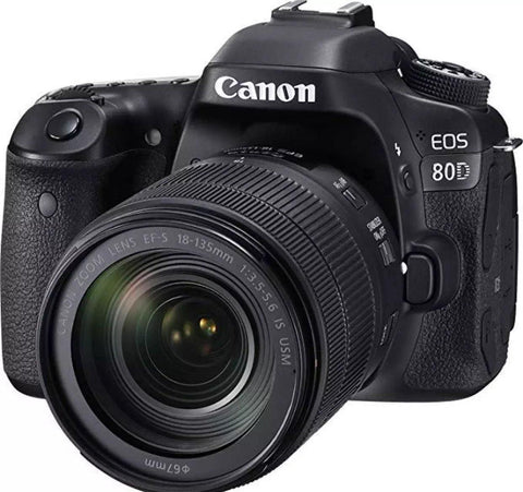 Canon EOS 80D Digital SLR Camera