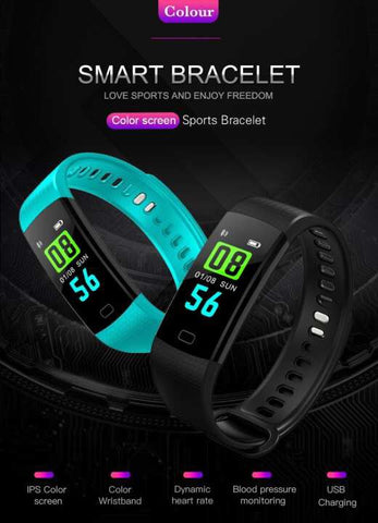Goral Y5 Smartwatch Water Resistant Pulse Activity Sports Band