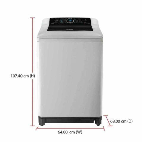 Panasonic NA-F62B6HRG Deluxe Split 6.2kgTop Load Washing Machine - (White)