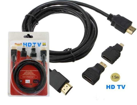 3 In 1 HDTV Cable