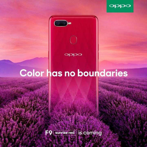 Oppo F9 [4 GB RAM / 64 GB ROM] - Red
