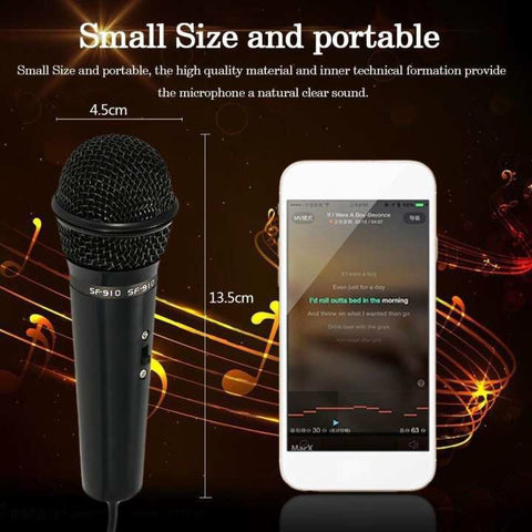 SF-910 Professional 3.5mm Condenser Microphone Sound Studio Podcast w/ StandSF-910 Professional 3.5mm Condenser Microphone Sound Studio Podcast w/ StandSF-910 Professional 3.5mm Condenser Microphone Sound Studio Podcast