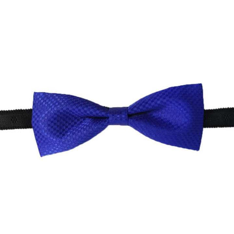 Mixed Fabric Checkered Bow Tie For Men