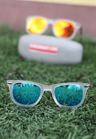 Sky Blue  Polarized  Sunglass- (Unisex)