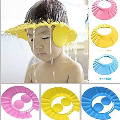 Baby Shampoo/Shower Cap Yellow